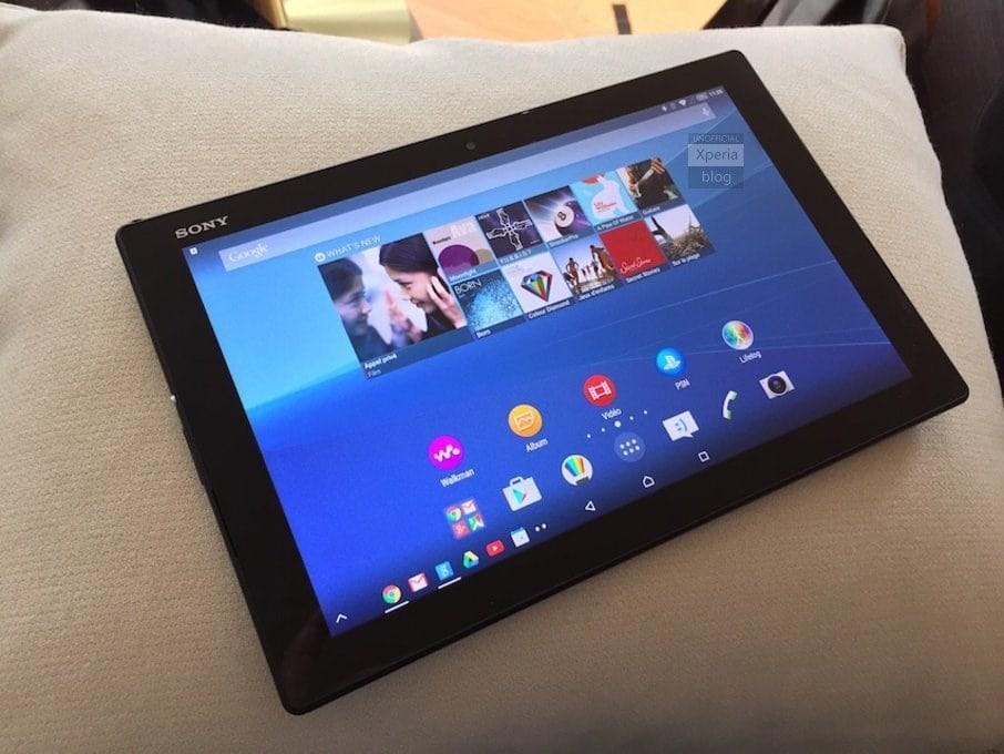 Xperia Z4 Tablet ed M4 Aqua immortalati dal vivo