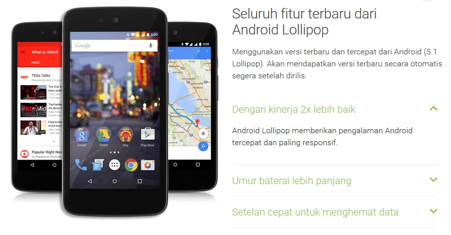 android 5.1 one indonesia