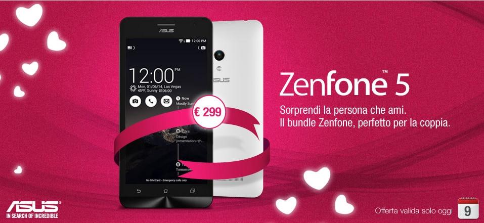 bundle zenfone 5 san valentino