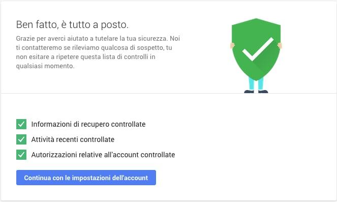 controllo sicurezza google giornata sicurezza internet