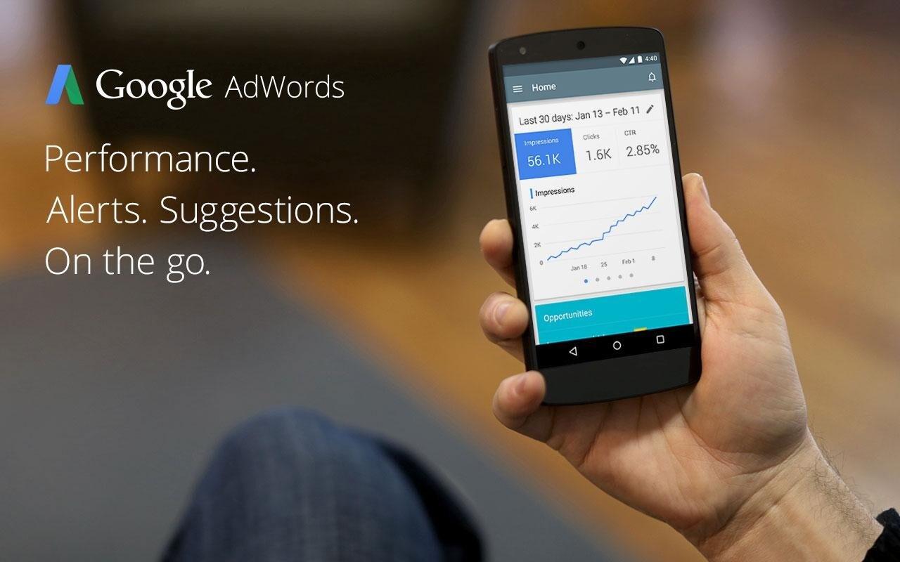 Google rilascia l'app AdWords in Canada, presto in tutto il mondo (download apk)
