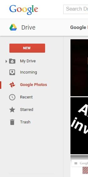 google foto in drive