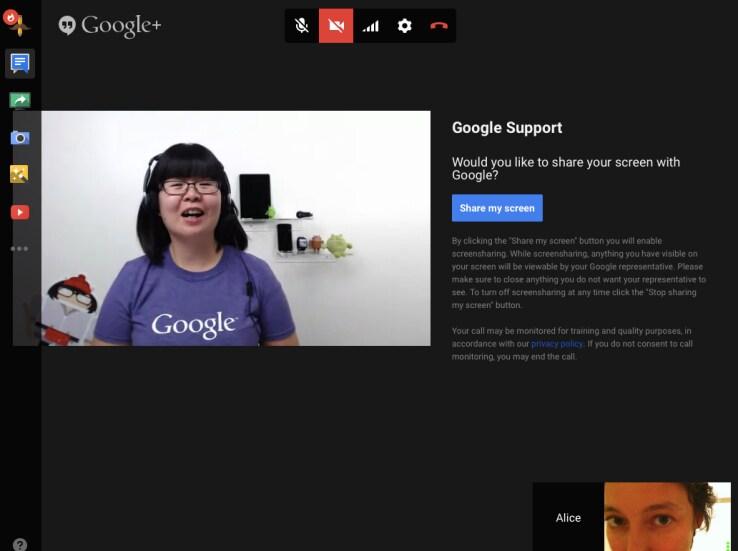Google usa Hangouts per creare un Genius Bar virtuale