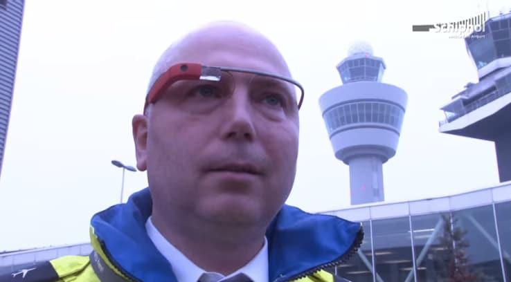 I Google Glass sono in fase di testing in un aeroporto europeo (video)