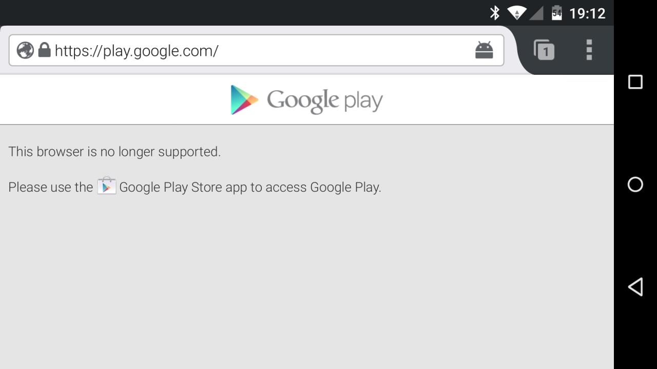 google play store firefox