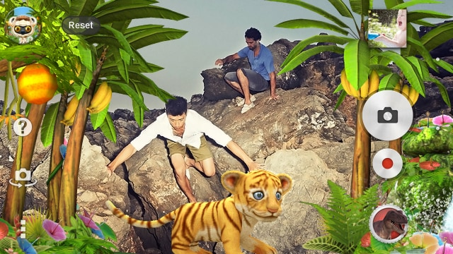 jungle ar effect sony