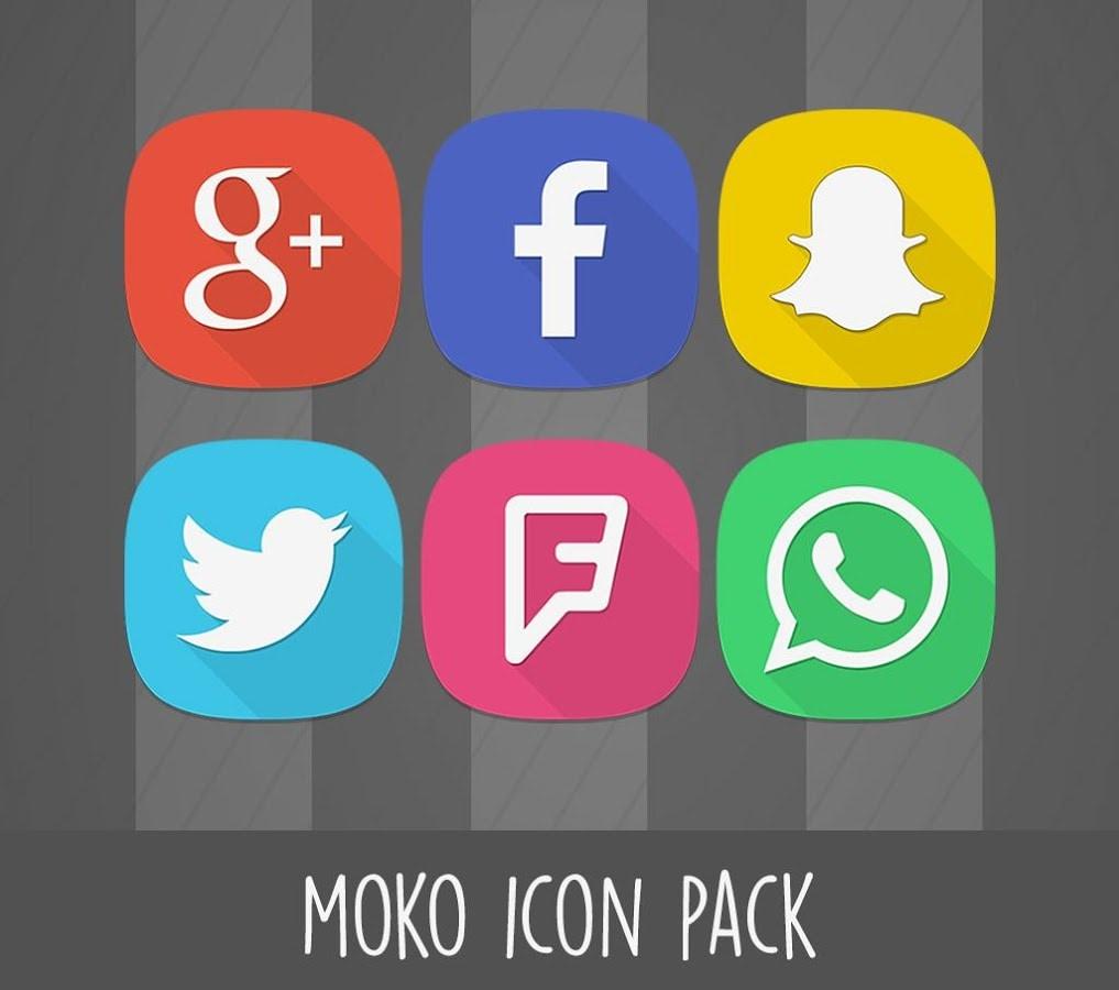 Moko, un ottimo icon pack con oltre 2.300 icone  (video)