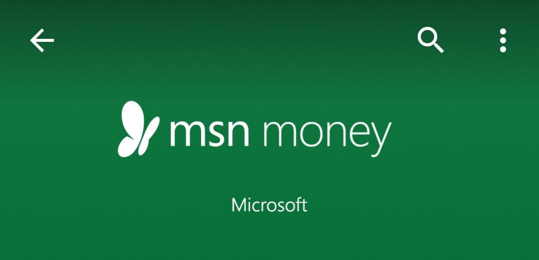 Come seguire la borsa con Android: MSN Money (foto)