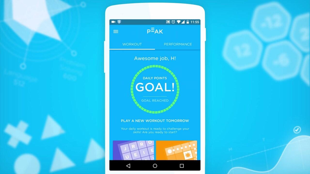 Lo smartphone può rendervi più intelligenti attraverso dei giochi: Peak (foto)