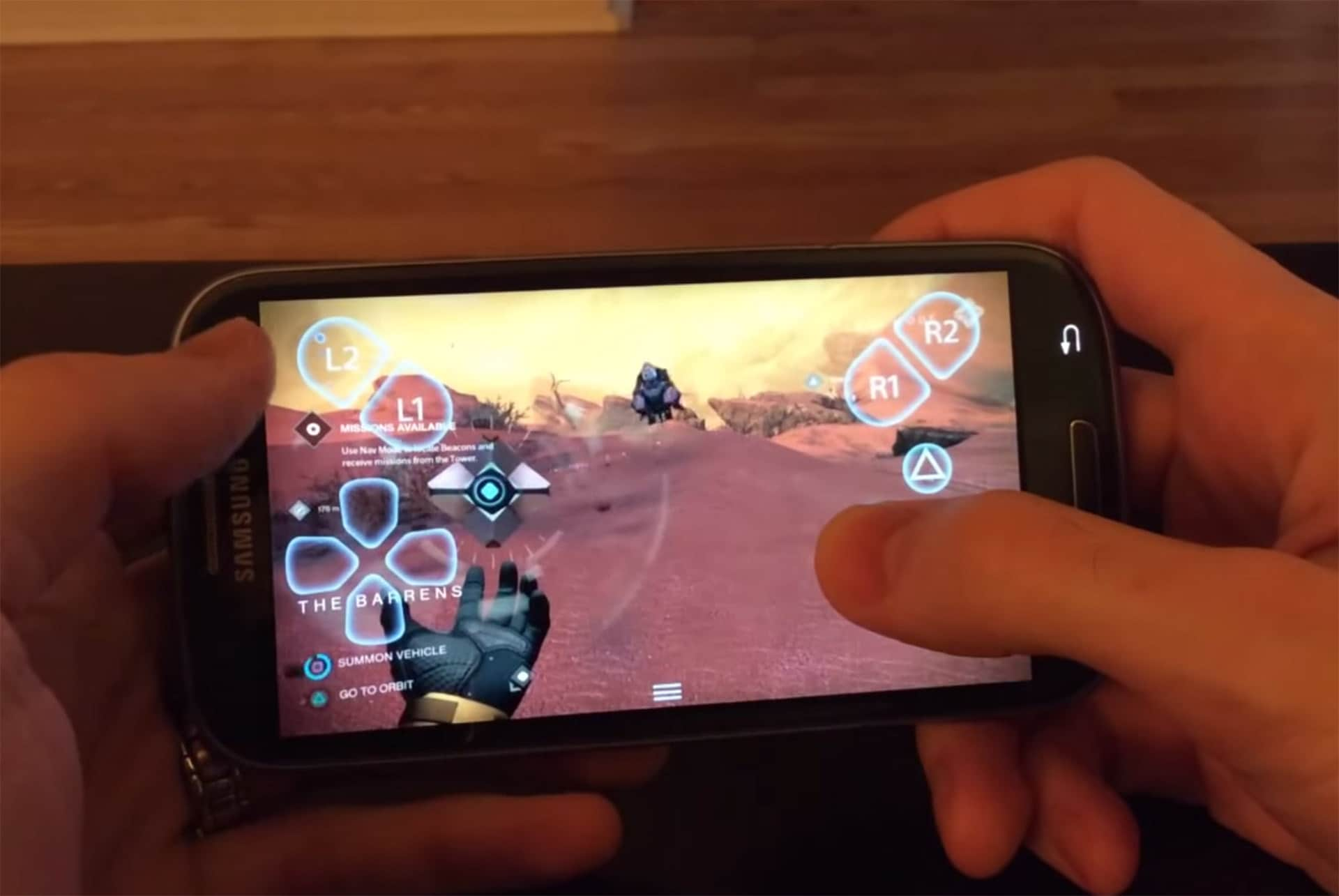 Playstation app android gingerbread