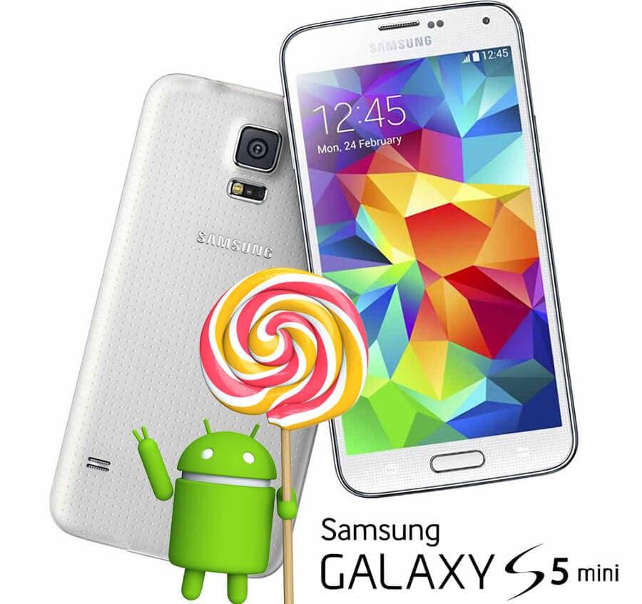 Galaxy S5 Mini con Lollipop entro l'estate, secondo Samsung Francia