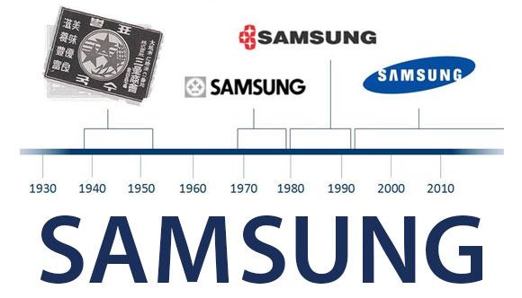 samsung logo storia