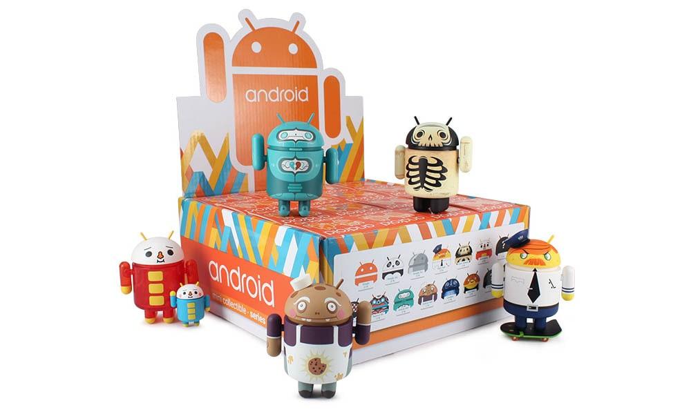 La serie 5 dei collezionabili Android sarà in vendita da domani (foto)