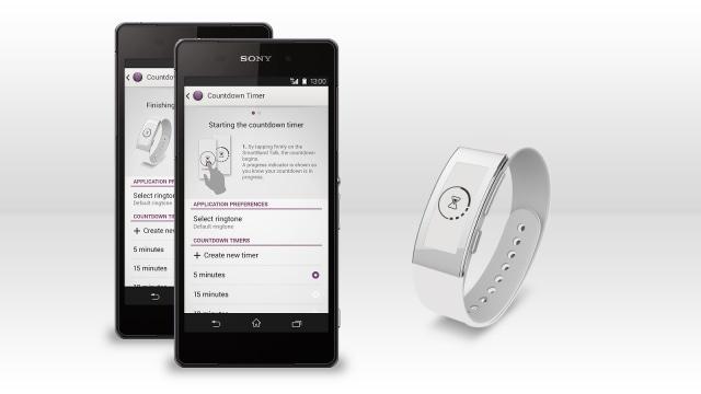 Sony SmartBand Talk diventa un timer grazie alla nuova app