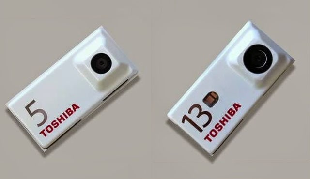 toshiba fotocamera project ara