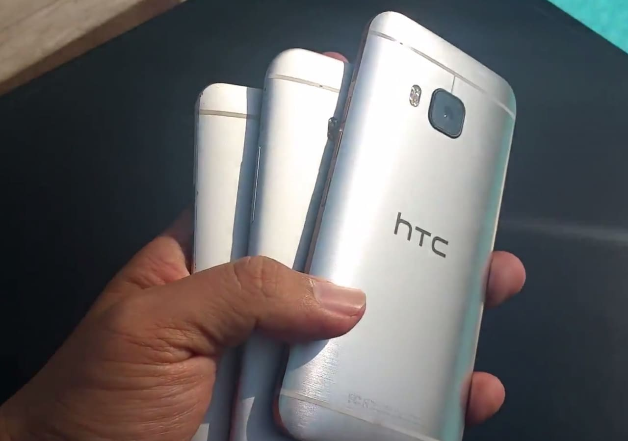 video htc one m9 trapelato