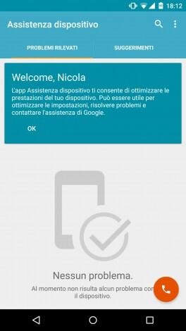 Assistenza dispositivo screenshot - 1