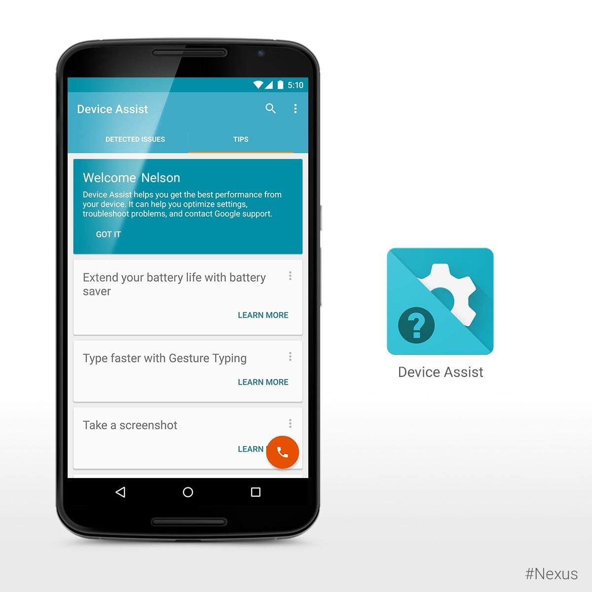 Assistenza dispositivo di Google arriva anche in Italia (foto e download apk)