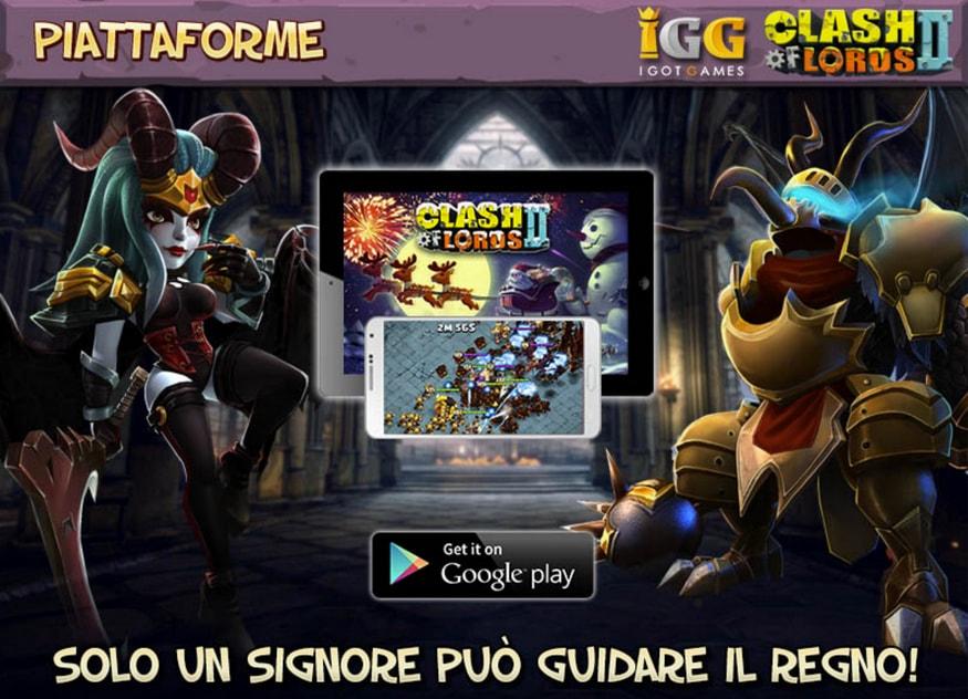 Clash of Lords 2: arriva sul Play Store la versione italiana! (video)