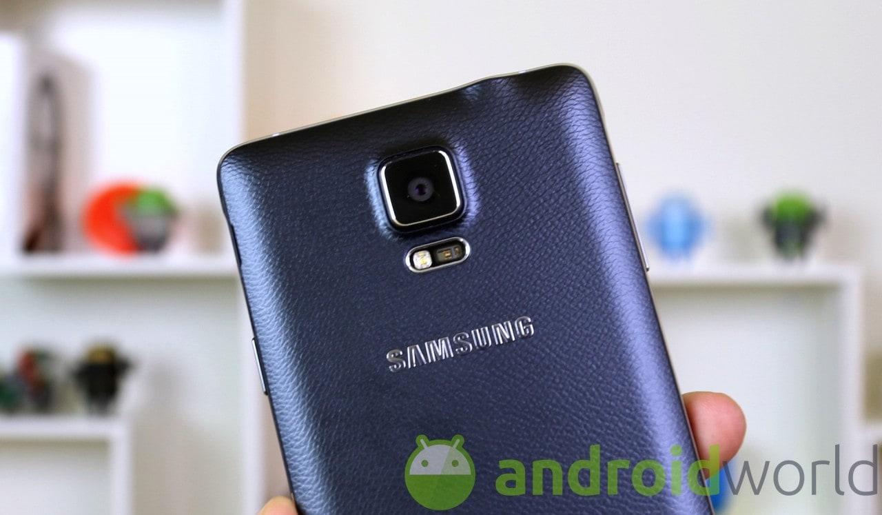 Fotocamera Samsung Galaxy Note 4 final