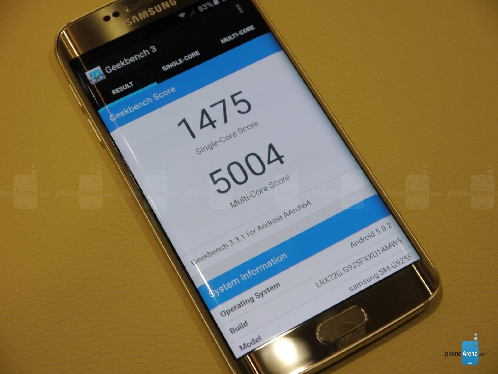 Galaxy S6 Edge AnTuTu – 3