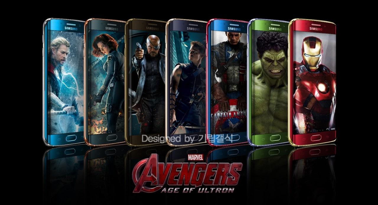 Gli accessori dei Vendicatori per Galaxy S6 ed S6 Edge saranno realtà
