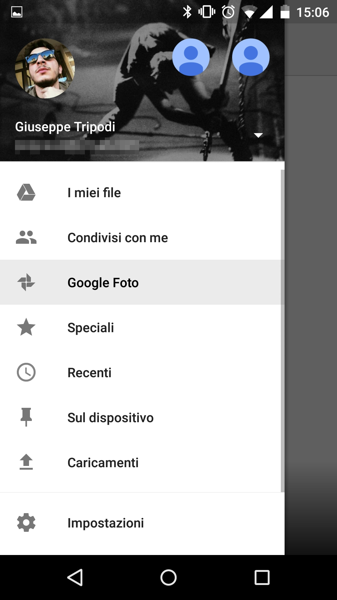 Google Foto in Drive screenshot – 7