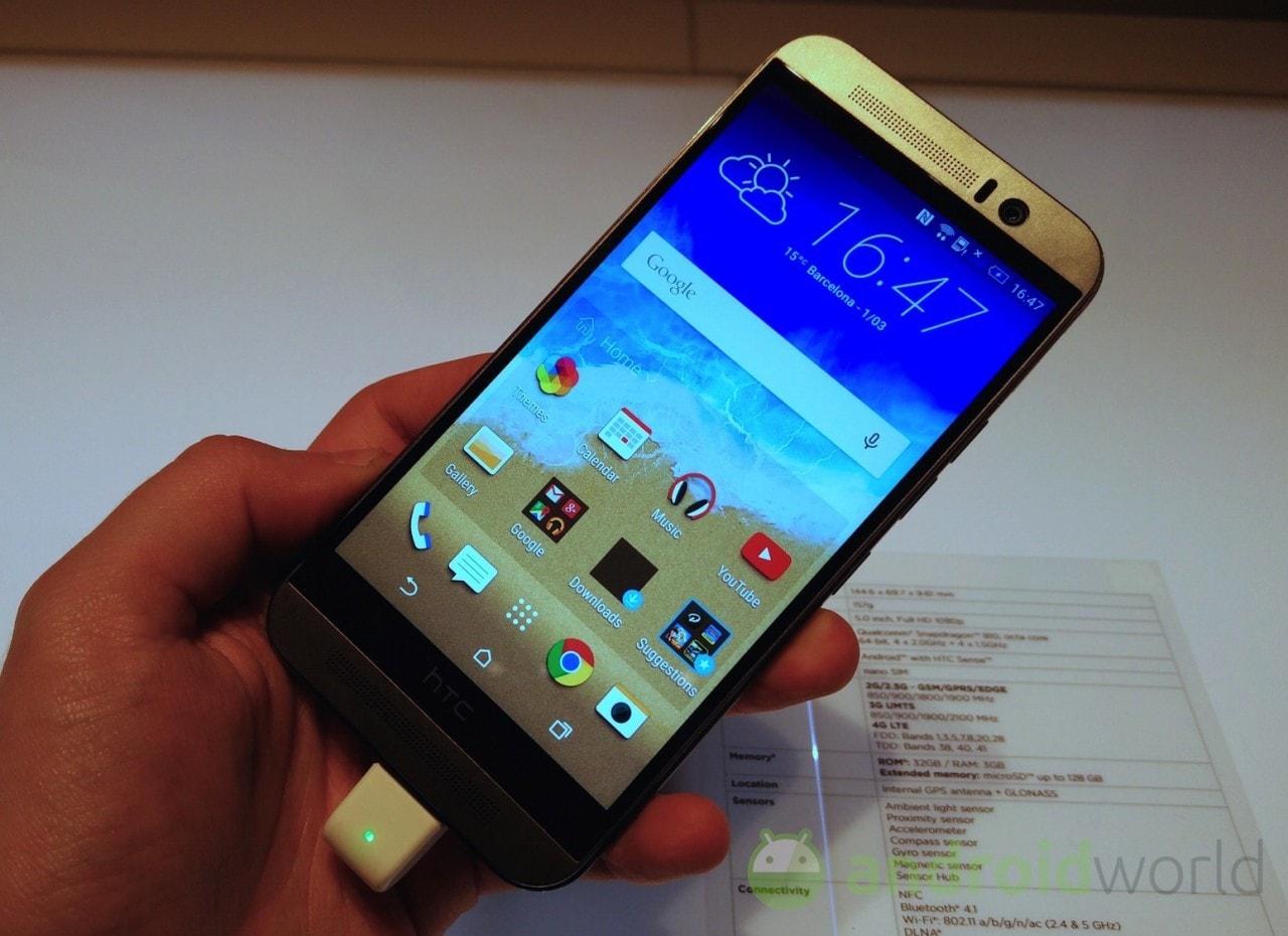 HTC pubblica cinque nuovi spot su One M9 (video)