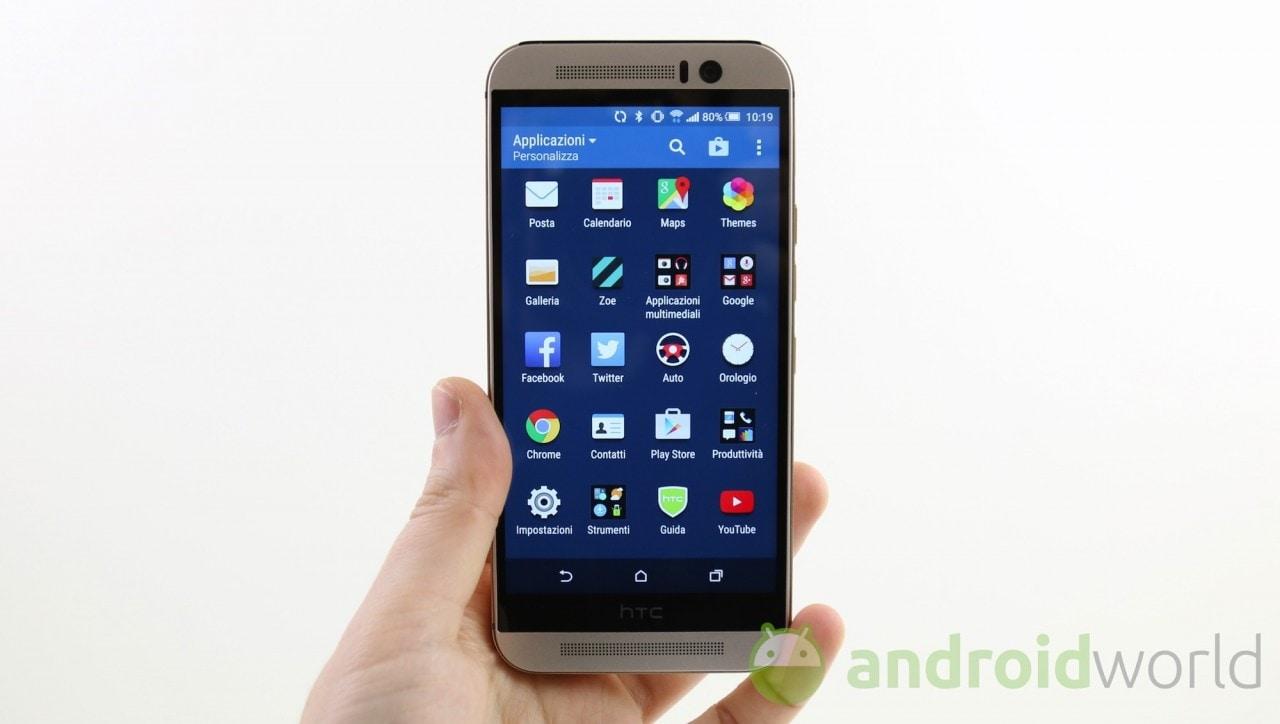 Piccolo aggiornamento per HTC One M9