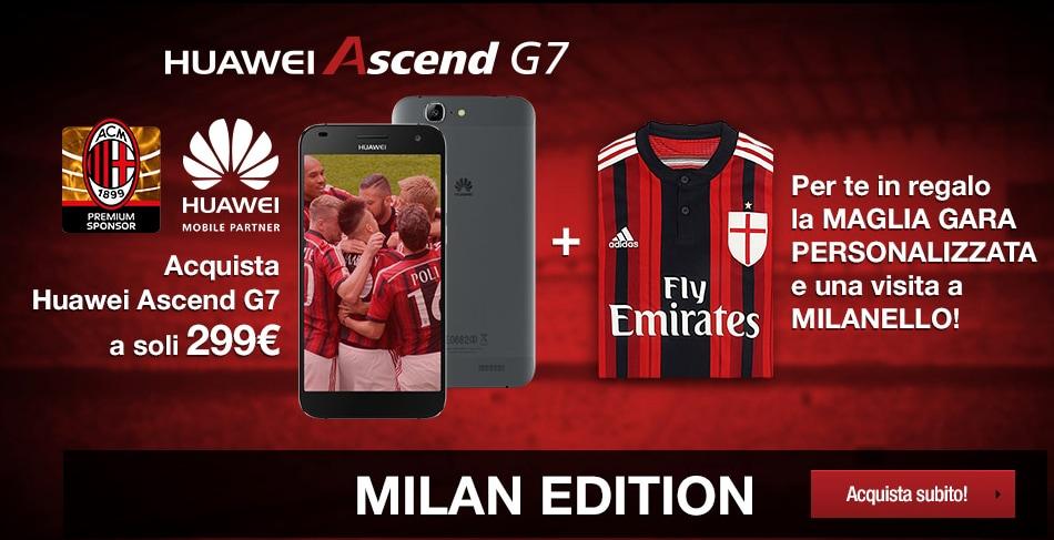 Huawei Ascedn G7 Milan Edition