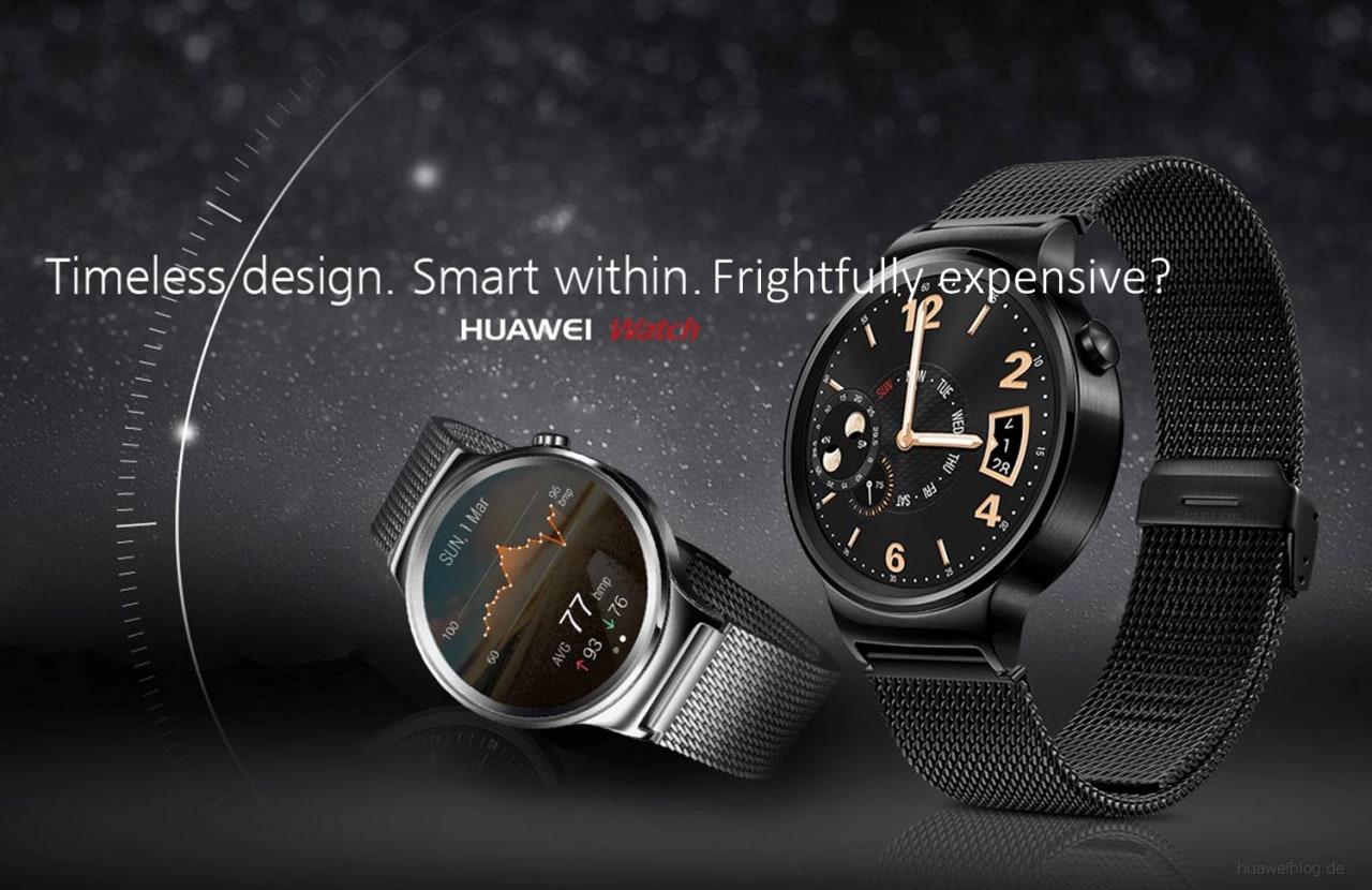 Huawei Watch ha uno speaker audio, ma è come se non l'avesse (foto)