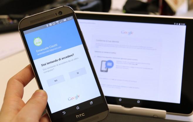 Google autenticazione Android
