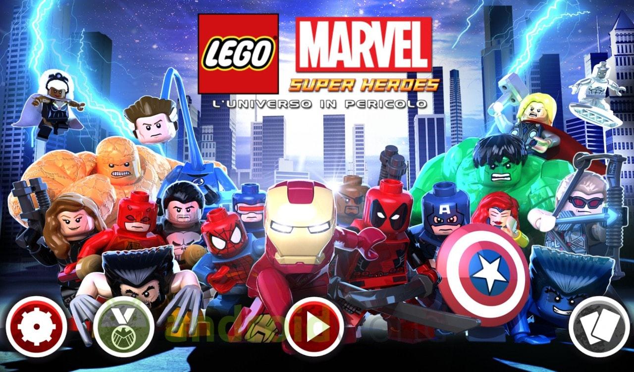 LEGO Marvel Super Heroes Copertina