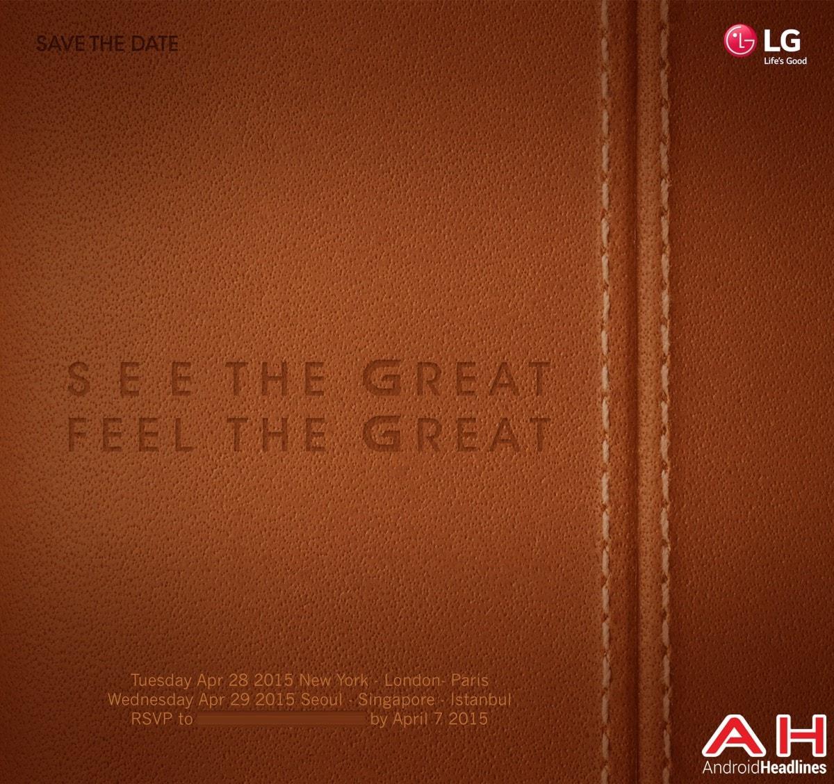LG G4: presentazione il 28 aprile