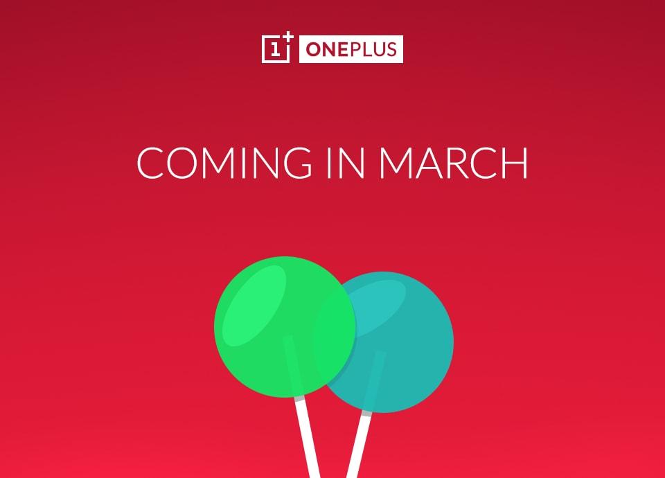Lollipop OnePlus One