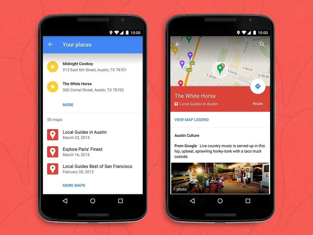 Le mappe create da noi finalmente disponibili in Google Maps per Android