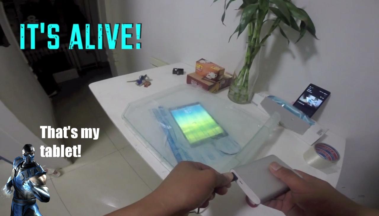 Xiaomi Mi Pad sopravvive ad un test di congelamento della durata di 15 ore (video)