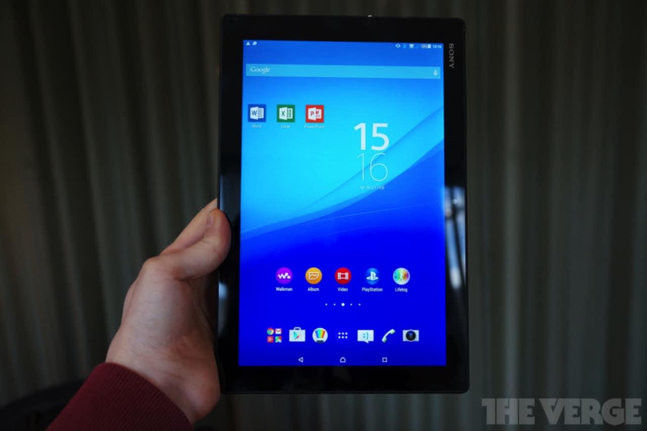 Office di Microsoft sarà preinstallato sui nuovi Sony Xperia Z4 Tablet