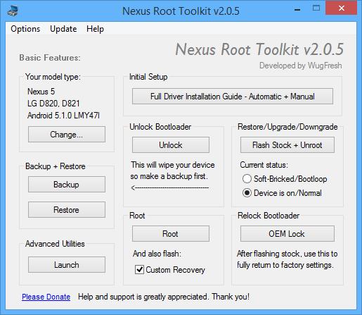Nexus Root Toolkit v2.0.5: più sicuro, più aggiornato e pronto al download