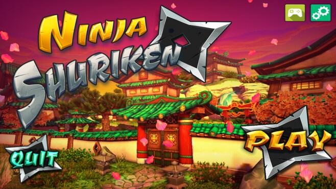 Ninja shuriken screenshot - 1