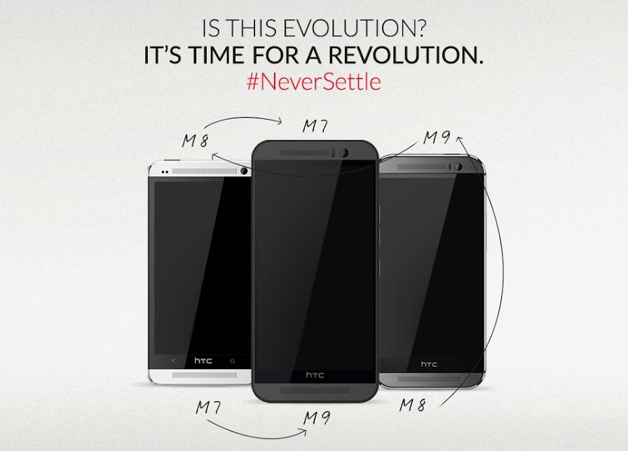 OnePlus sfotte HTC in tempo record: M9 è sempre lo stesso