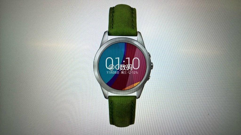 Oppo Smartwatch leaked
