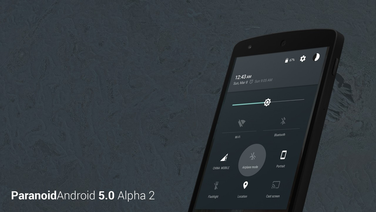 Paranoid Android 5.0 Alpha 2