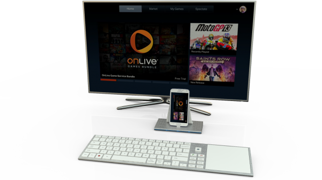 Phonejoy hub and TV - accessing Onlive