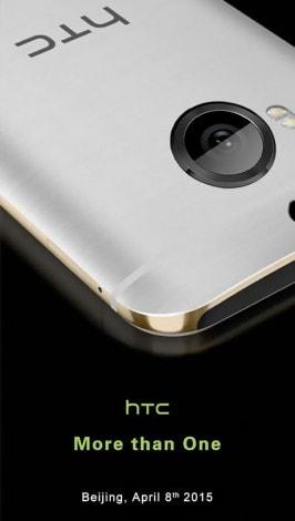 Presentazione HTC One M9 Plus