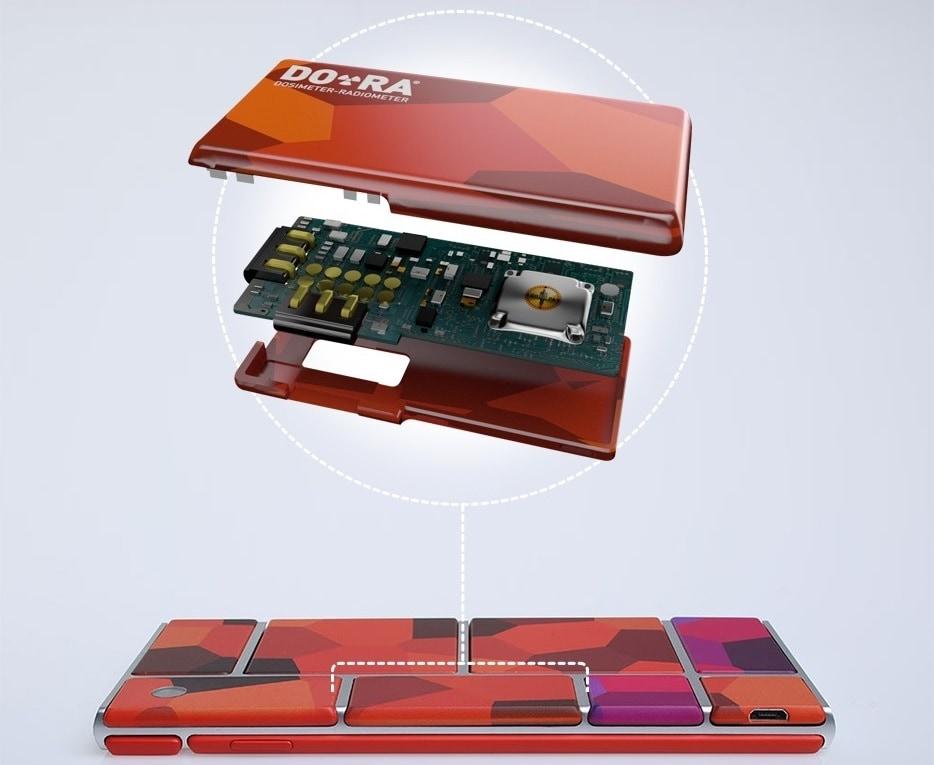 Su Project Ara anche un modulo per misurare le radiazioni (foto)
