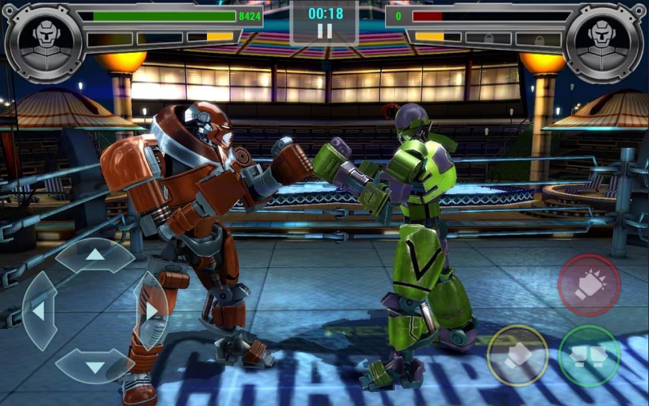 Il picchiaduro Real Steel Champions disponibile gratuitamente per Android (foto e video)
