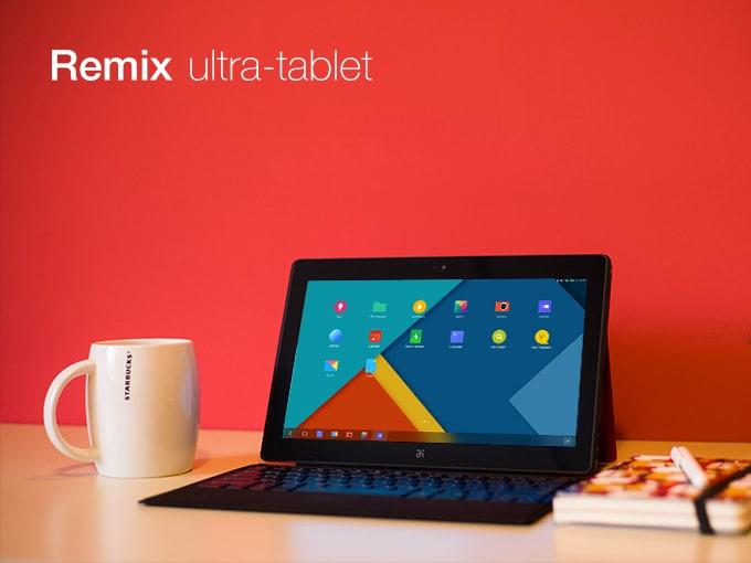 Remix, il tablet Android che si crede Windows, è ora in vendita