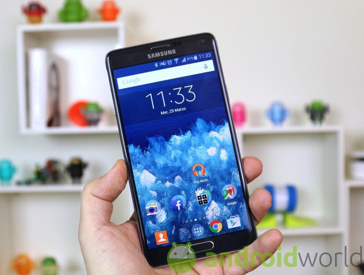 Samsung Galaxy Note 4 torna a 499€ da Yeppon