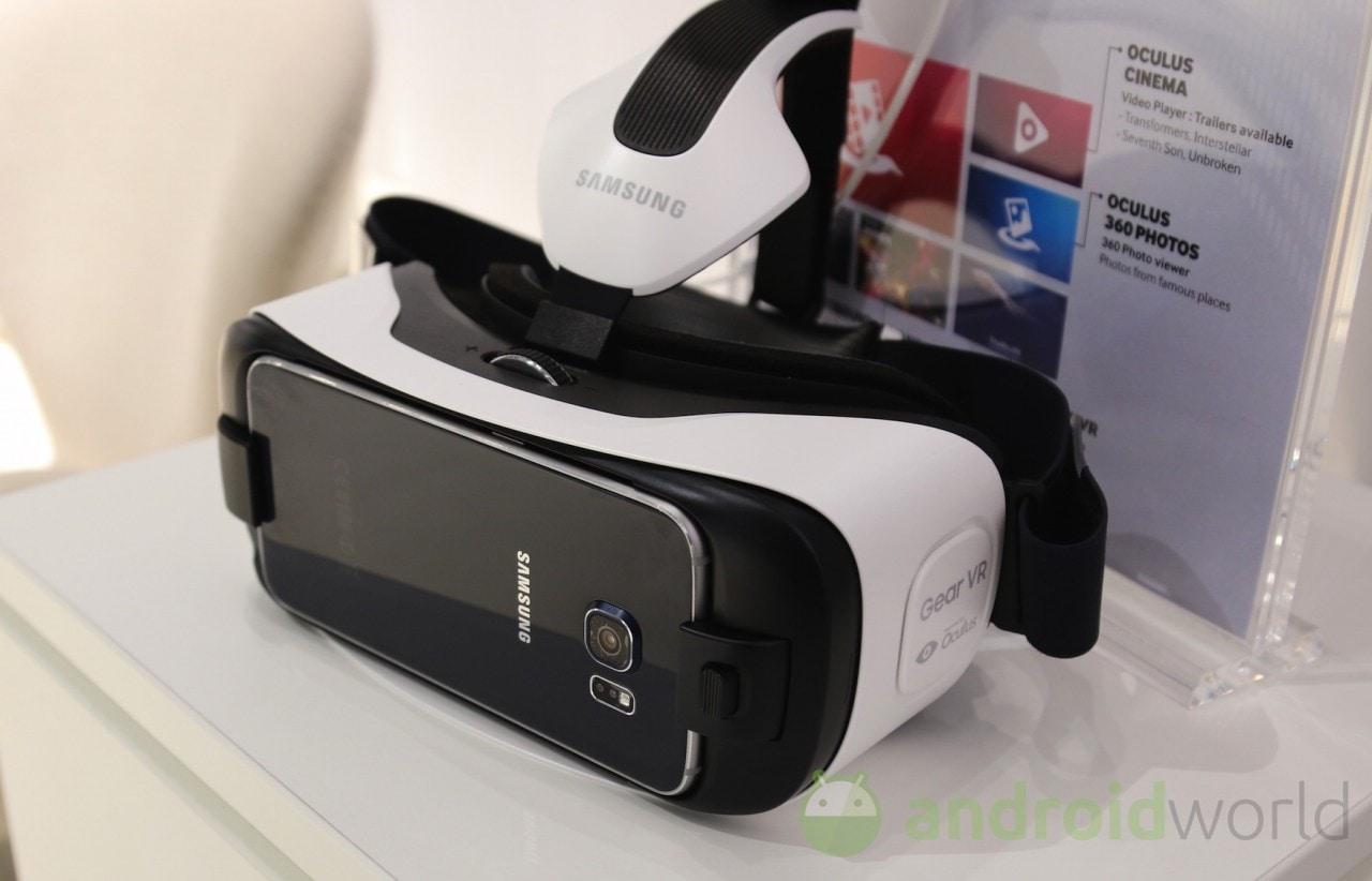 Samsung Gear VR per Galaxy S6 / S6 Edge: le nostre impressioni (foto)
